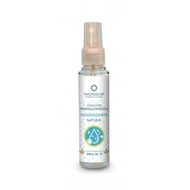 Solución Hidroalcohólica Higienizante Natural Spray 60 ml. Madreselva